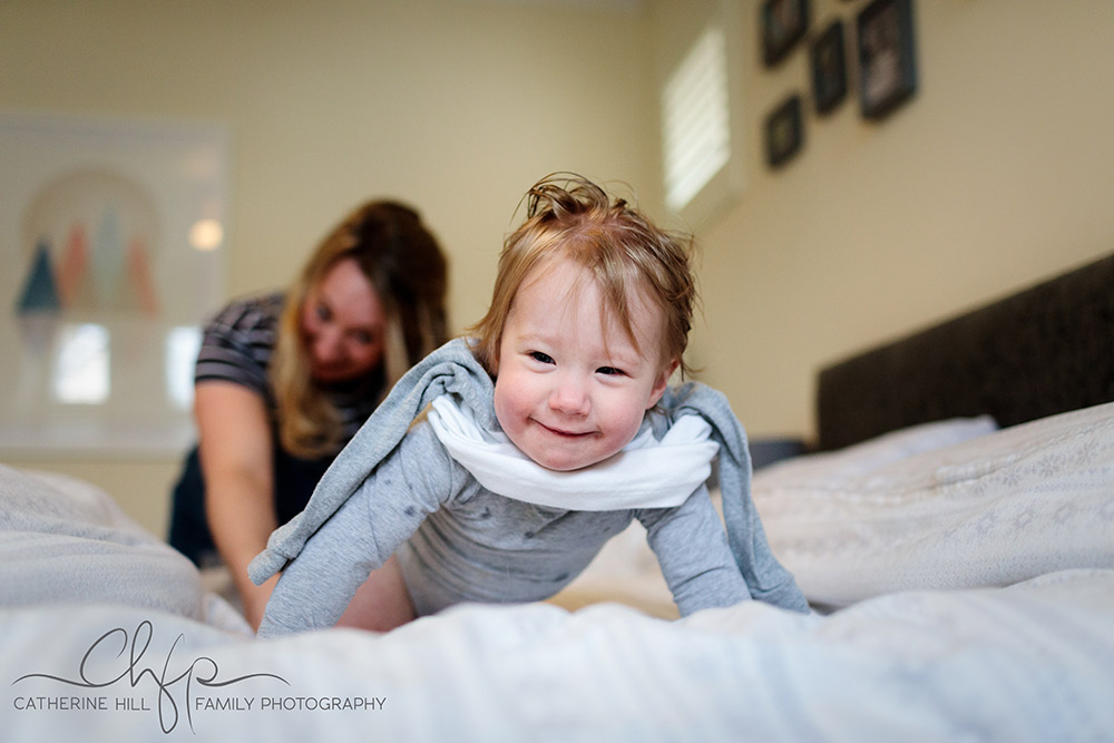 Bedtime with the Towse Family - documentary family photography