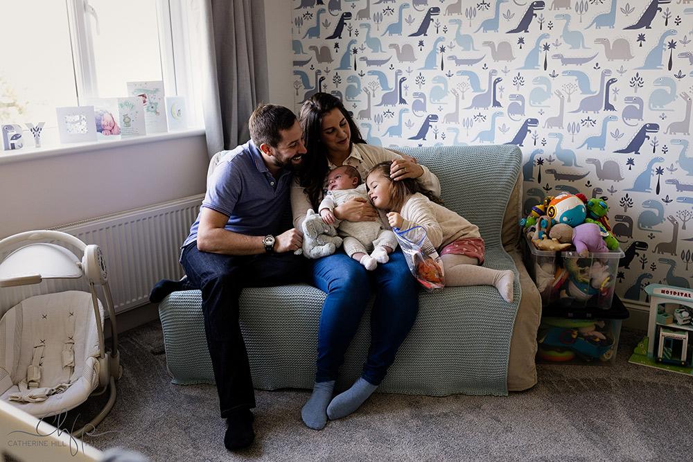 documentary family shoot - a slice of family life
