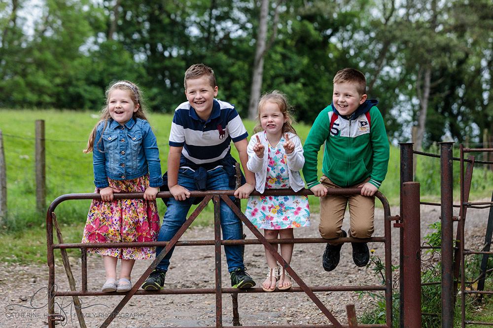 a family outing - documentary family photography