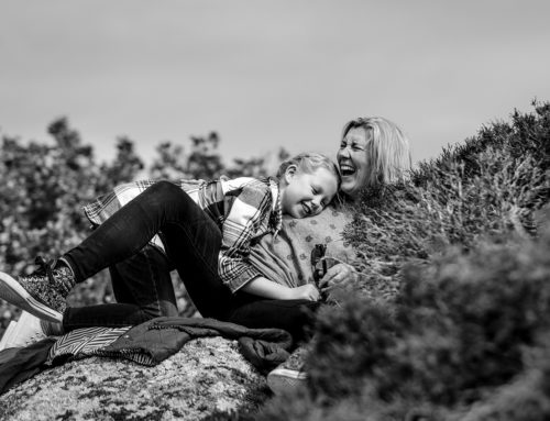 Portelet Bay, Jersey Family Photographer – Donna-Marie & Skyla