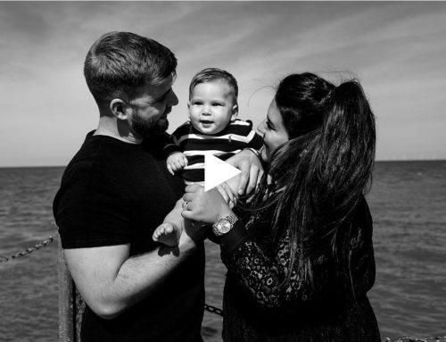 Shelly, Callum & Valentino's Whitstable Family Photography